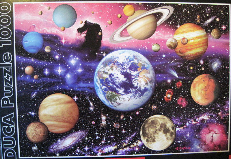 Astronomy jigsaw puzzle by Educa