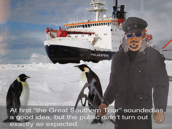 Alexx at Antarctica