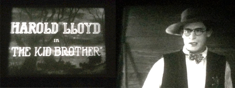 Harold Lloyd in 'The Kid Brother'