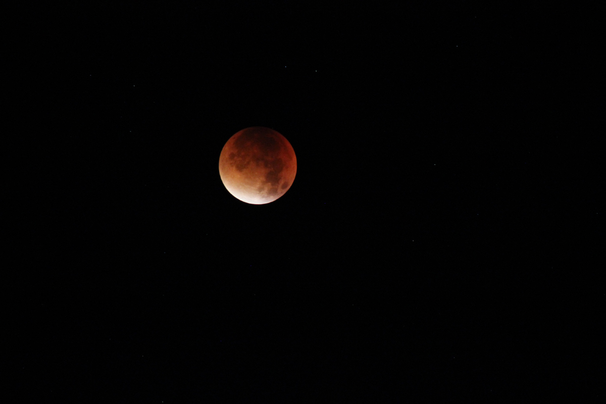 Lunar eclipse on 28.9.2015