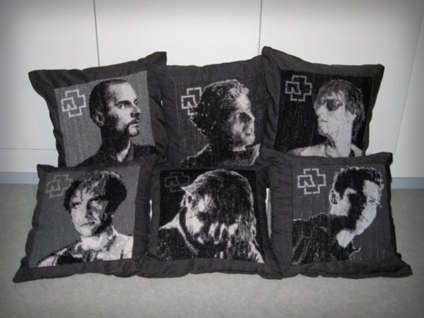 Rammstein pillows